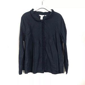 Sundance black long sleeve top